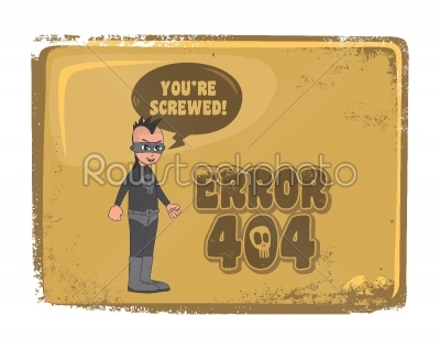 stock vector: error page template-Raw Stock Photo ID: 68783