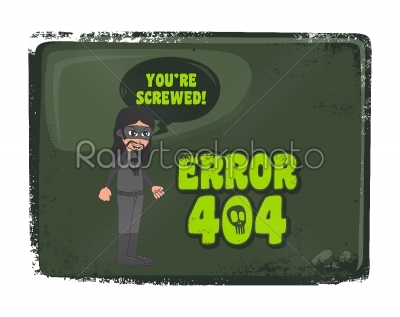 stock vector: error page template-Raw Stock Photo ID: 68785
