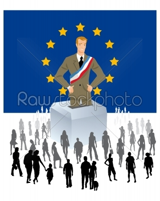 stock photo: european elections-Raw Stock Photo ID: 67918