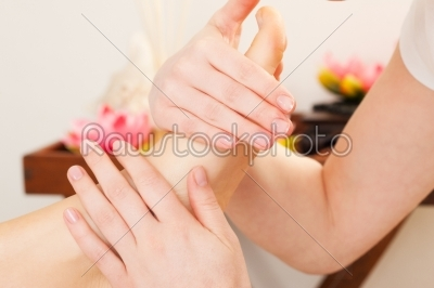 stock photo: feet massage in spa-Raw Stock Photo ID: 50386