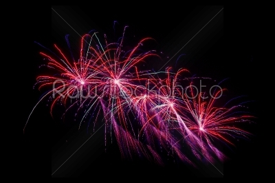 stock photo: fireworks at new years eve-Raw Stock Photo ID: 66182