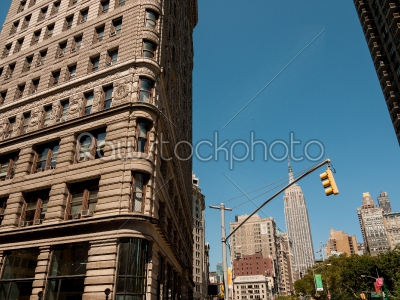 stock photo: flatiron and empire state-Raw Stock Photo ID: 74989