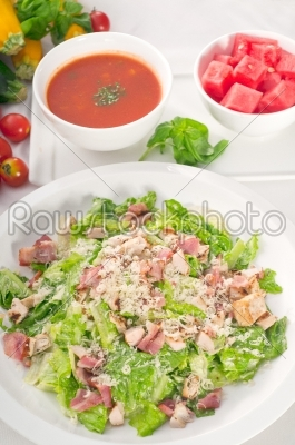 stock photo: fresh caesar salad-Raw Stock Photo ID: 54443