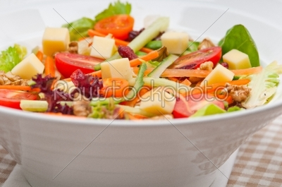 stock photo: fresh colorful healthy salad-Raw Stock Photo ID: 59486
