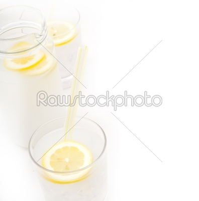 stock photo: fresh lemonade drink-Raw Stock Photo ID: 58172