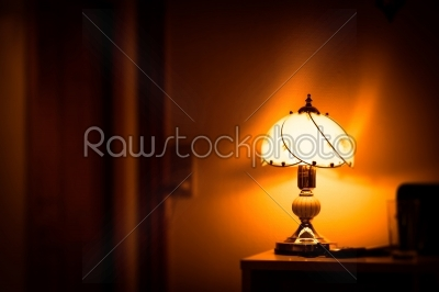 stock photo: glowing lamp-Raw Stock Photo ID: 66499