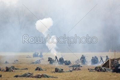 stock photo: grenade launcher shooting-Raw Stock Photo ID: 67031