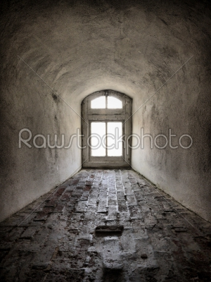 stock photo: grey tunnel-Raw Stock Photo ID: 74630