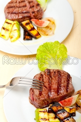 stock photo: grilled beef filet mignon-Raw Stock Photo ID: 64970