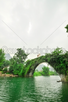 stock photo: guilin li river karst mountain landscape in yangshuo-Raw Stock Photo ID: 57118