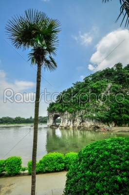 stock photo: guillin china seven star park and karst rocks yangshuo-Raw Stock Photo ID: 57054
