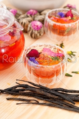 stock photo: herbal natural floral tea infusion with dry flowers-Raw Stock Photo ID: 58621