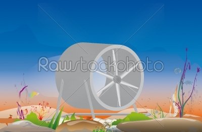 stock photo: hydroelectric-Raw Stock Photo ID: 67848