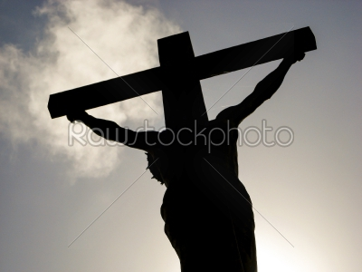 stock photo: jesus sihouette-Raw Stock Photo ID: 74628