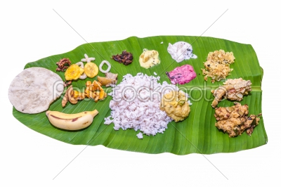 stock photo: kerala sadhya traditional vegetarian meals-Raw Stock Photo ID: 75047