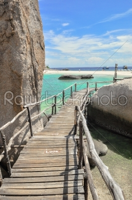 stock photo: koh tao  a paradise boardwalk in thailand-Raw Stock Photo ID: 56248