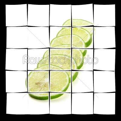 stock photo: lime-Raw Stock Photo ID: 58707