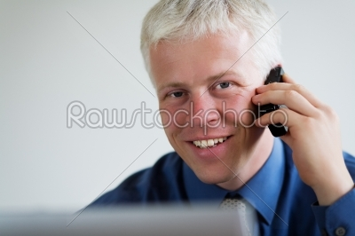 stock photo: looking over the computer-Raw Stock Photo ID: 51457