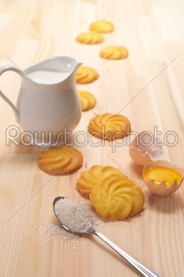 stock photo: making baking cookies-Raw Stock Photo ID: 57818