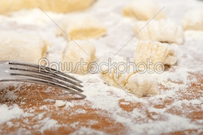 stock photo: making fresh italian potato gnocchi-Raw Stock Photo ID: 65618