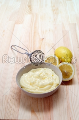 stock photo: making fresh mayonnaise sauce-Raw Stock Photo ID: 58103