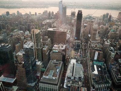 stock photo: manhattan from above-Raw Stock Photo ID: 75010