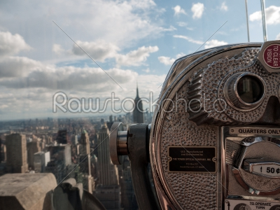 stock photo: manhattan through a viewfinder-Raw Stock Photo ID: 74983