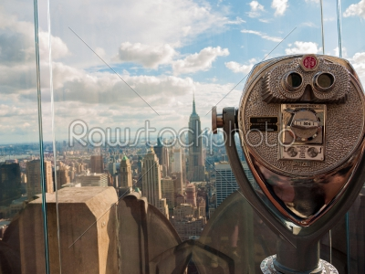 stock photo: manhattan through a viewfinder-Raw Stock Photo ID: 74984