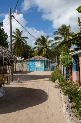 stock photo: mano juan village in saona domenican republic-Raw Stock Photo ID: 70279