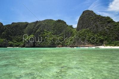 stock photo: maya bay koh phi phi thailand the place to be-Raw Stock Photo ID: 56296