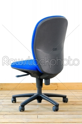 stock photo: modern blue office chair-Raw Stock Photo ID: 58799