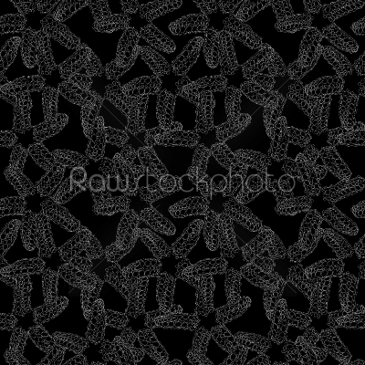 stock vector: monochrome starfish pattern-Raw Stock Photo ID: 56828