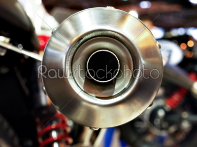 stock photo: motorcycle exhaust-Raw Stock Photo ID: 74631