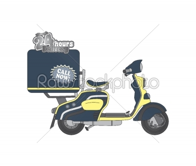 stock vector: motorcycle theme-Raw Stock Photo ID: 68728