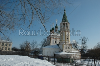 stock photo: old church in serpuchov russia-Raw Stock Photo ID: 67479