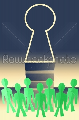 stock photo: opprtunity open concept-Raw Stock Photo ID: 61133