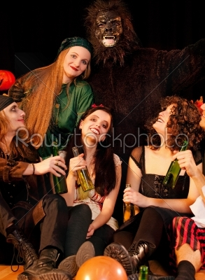 stock photo: party for carnival or halloween-Raw Stock Photo ID: 51315