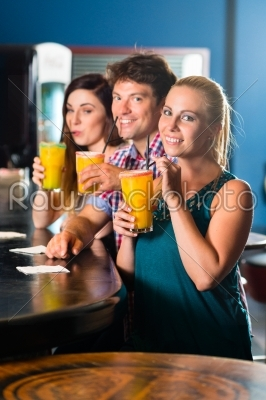 stock photo: people in club or bar drinking-Raw Stock Photo ID: 49341