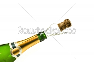 stock photo: popping champagne-Raw Stock Photo ID: 66490