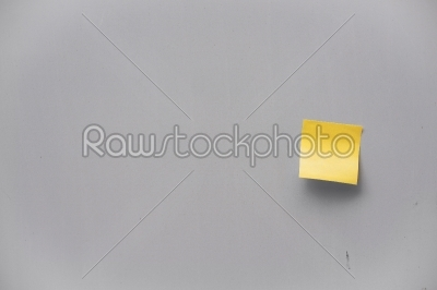 stock photo: postit note on a wall-Raw Stock Photo ID: 66106