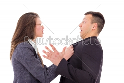 stock photo: relationship gone bad in the workplace-Raw Stock Photo ID: 52356