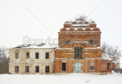 stock photo: ruins of an old church-Raw Stock Photo ID: 67820