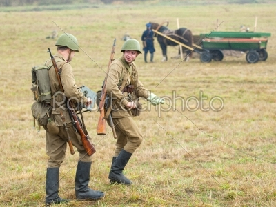 stock photo: russian defence-Raw Stock Photo ID: 67050