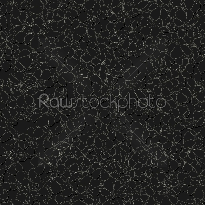 stock vector: seamless monochrome pattern with flowers-Raw Stock Photo ID: 56830