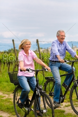 stock photo: seniors exercising with bicycle-Raw Stock Photo ID: 49152