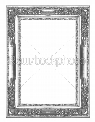 Silver picture frame - Art and Creative - High Resolution Stock Raw ...