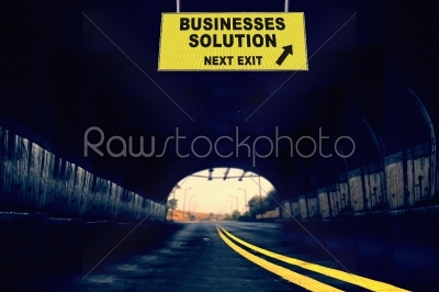 stock photo: solution next exit concept-Raw Stock Photo ID: 61474