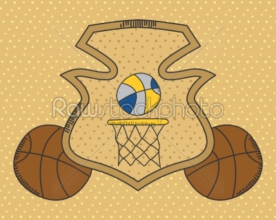 stock vector: sports theme-Raw Stock Photo ID: 69362