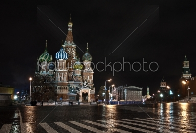 stock photo: st basil catedral in moscow russia-Raw Stock Photo ID: 67792