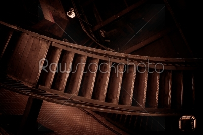 stock photo: stairway in an old building-Raw Stock Photo ID: 66133
